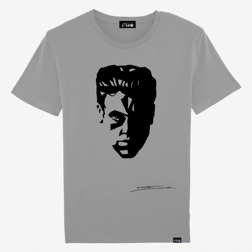 T-shirt Homme Opal en coton bio de Victor Delhez