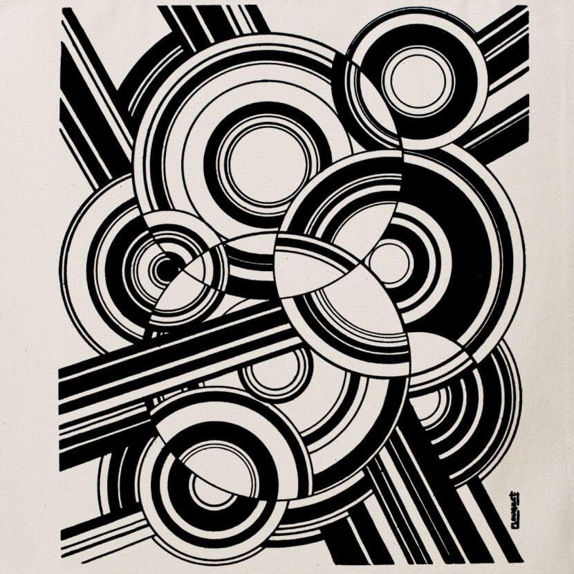 Tote bag natural Pierre-Louis FLOUQUET Pythagorisme esthétique