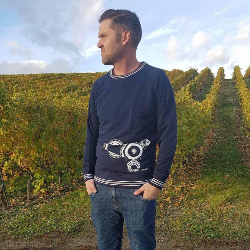 sweatshirt originaux imprimé belgique