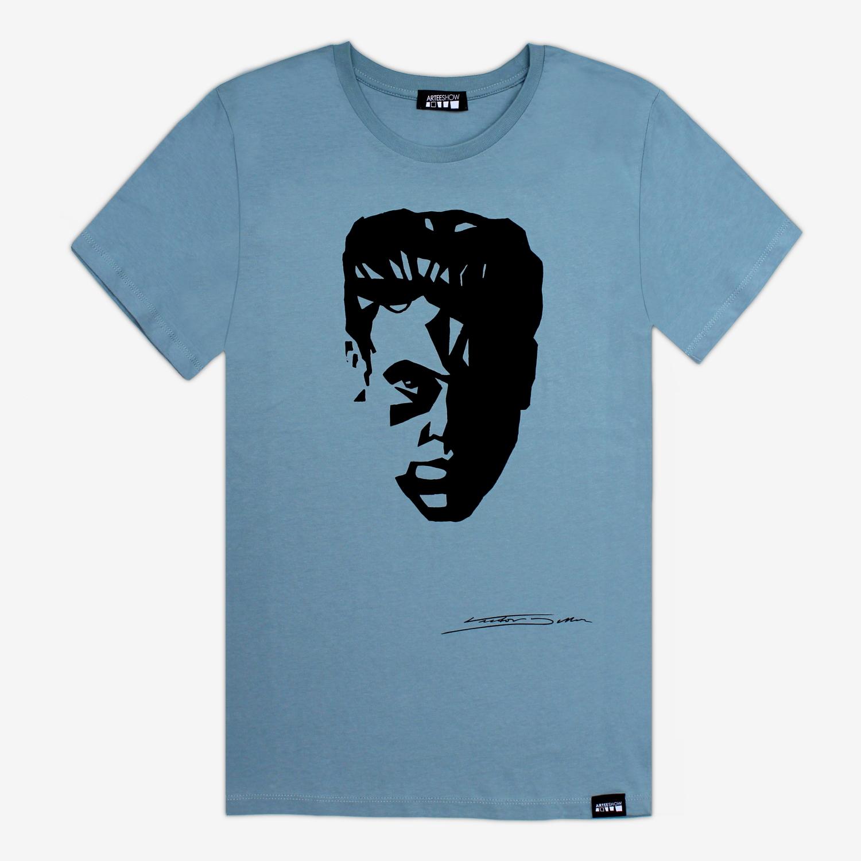 tee shirt man citadel blue selfportrait arteeshow. Black Bedroom Furniture Sets. Home Design Ideas