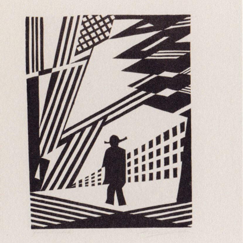 """Victor Delhez, """"L'Homme dans la lumière», 1927 ca."""