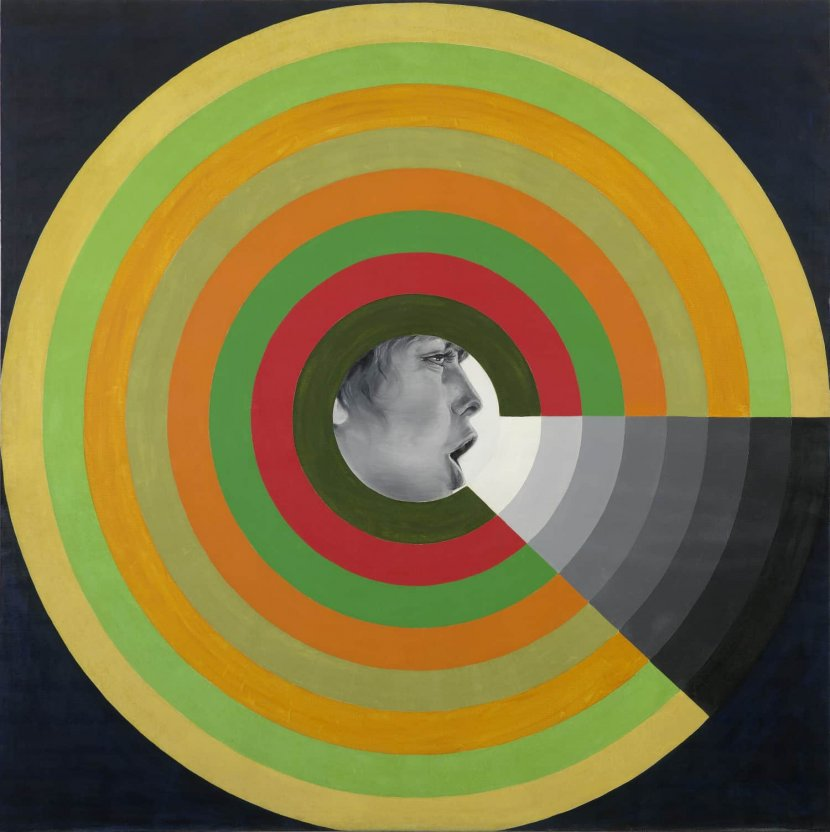 Evelyne Axell, «Le Mur du son», 1966
