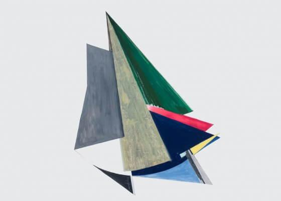 1956 Angles apaisés-encre gouache-69x54