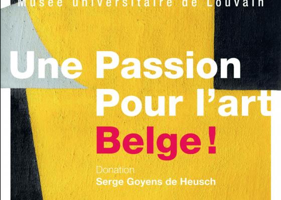 Flyer exposition MuseeL Louvain-la-Neuve