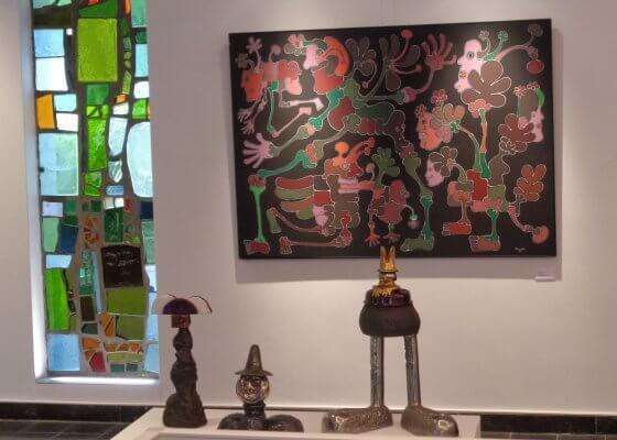 Exposition Pierre Caille au Musée Marthe Donas de Ittre