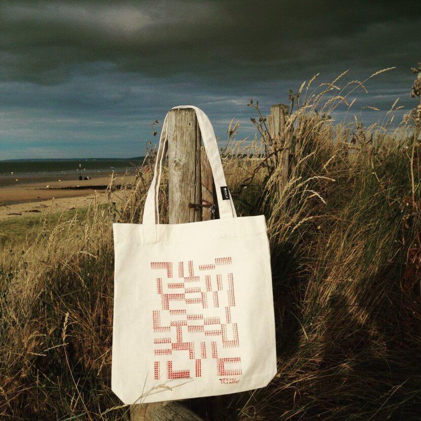 Tote bag en toile recyclée de Henri Gabriel
