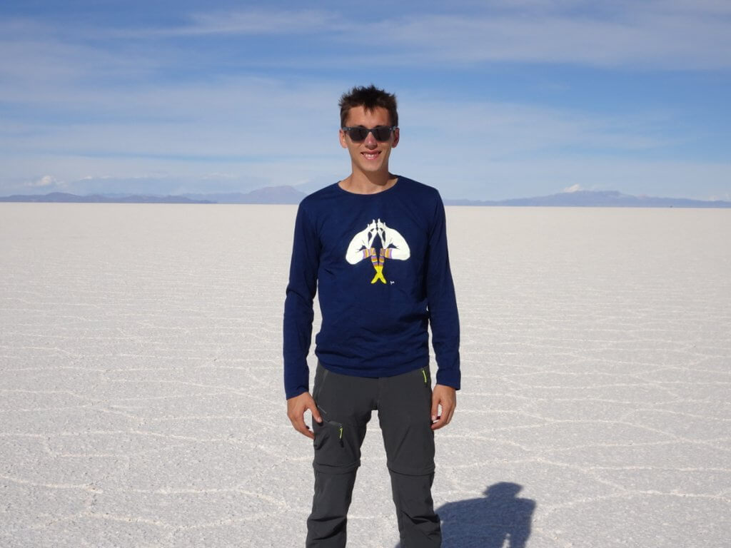 T-shirt Evelyne Axell en Bolivie