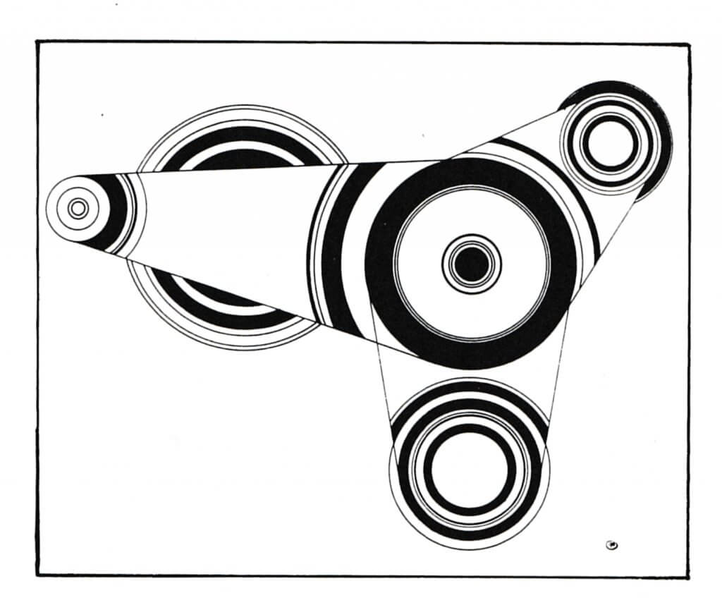 FLOUQUET 1922 ss titre encre de chine 25x33,5 WS