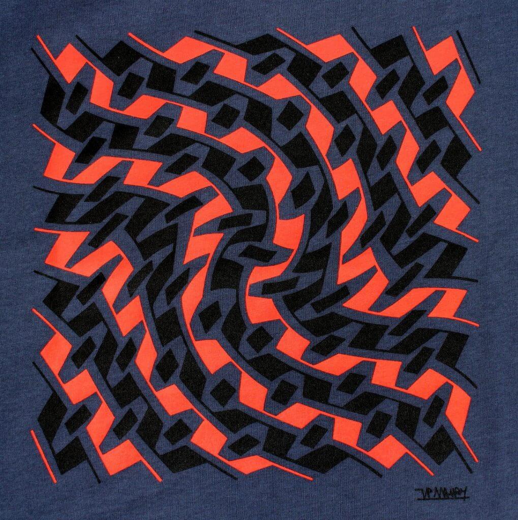 Tee-shirt homme art belge Jean-Pierre Maury