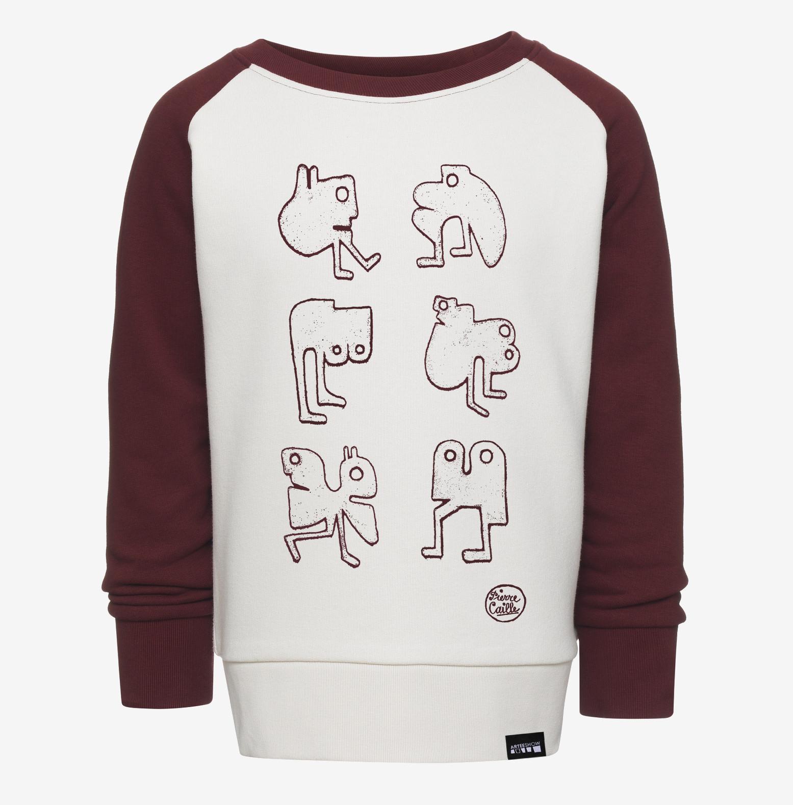 en soldes 5fdc4 25274 [:fr]Sweat-Shirt Enfant Vintage White
