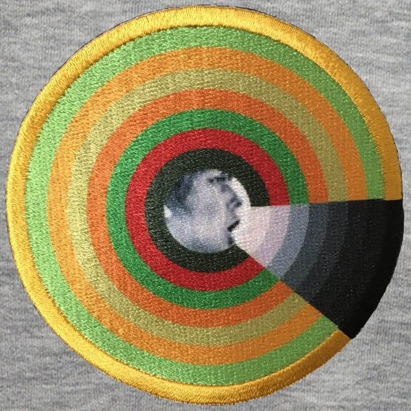 Patch hoodie black Axell Mur du son
