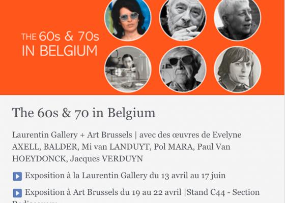 Exposition galerie Laurentin Bruxelles