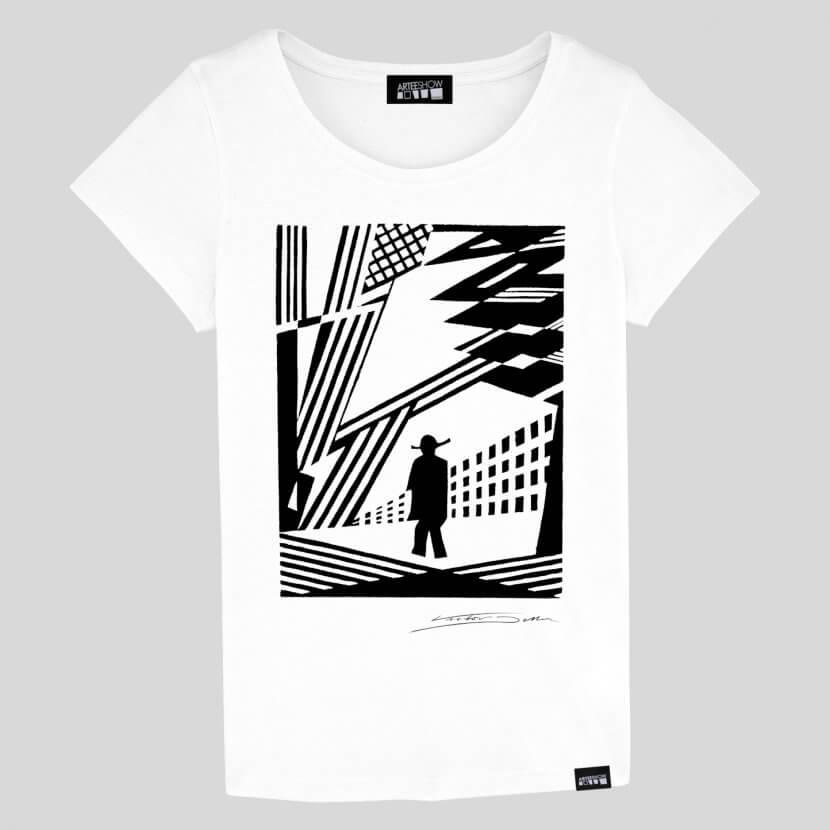 T-shirt Femme coton biologique belge