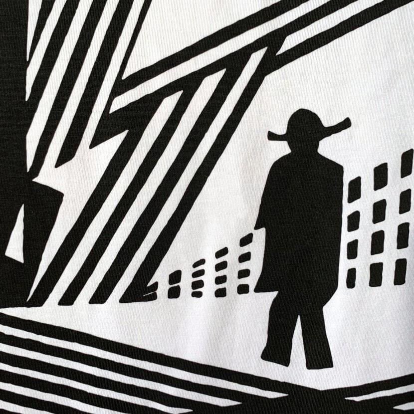 t-shirt Victor Delhez artiste belge