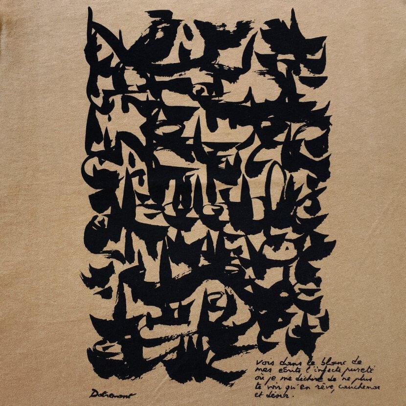 T-shirt belge Dotremont logogramme