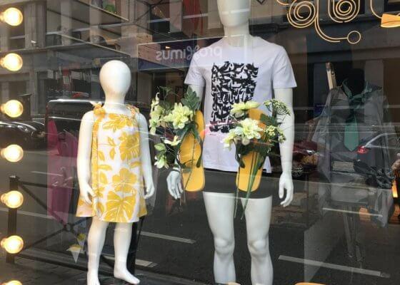Boutique Bruxelles Les Brusseloises rue Lebeau