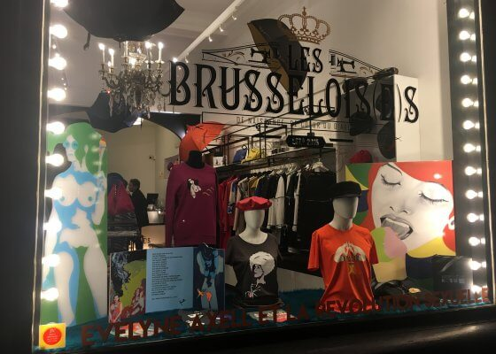 Vitrine Mode Parcours We are fashion
