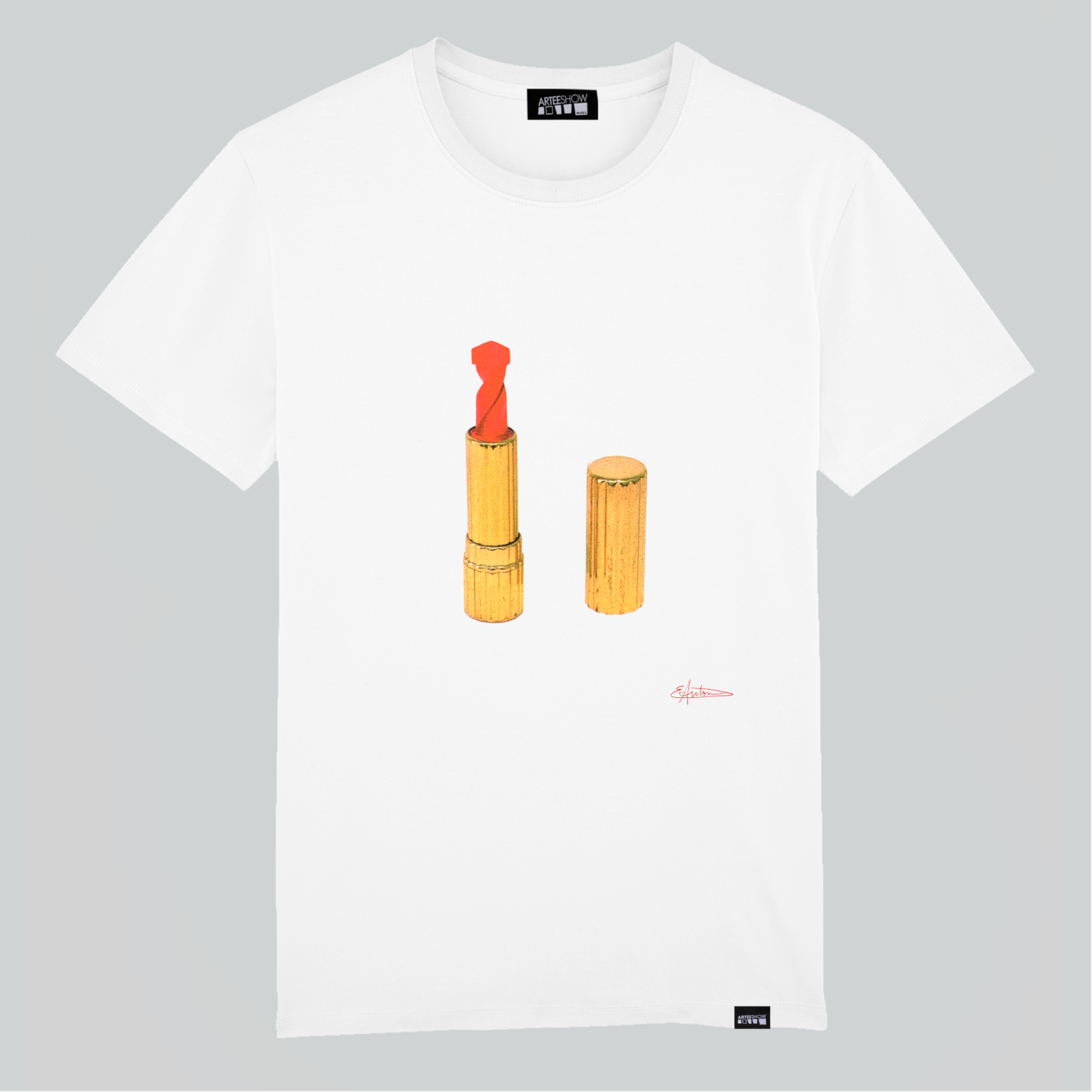 67e3ed65e2 [:fr]Tee-Shirt Unisexe Blanc