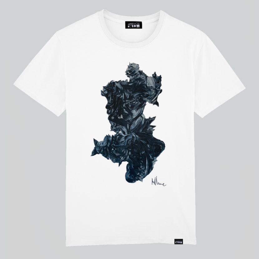 t-shirt blanc stephan balleux