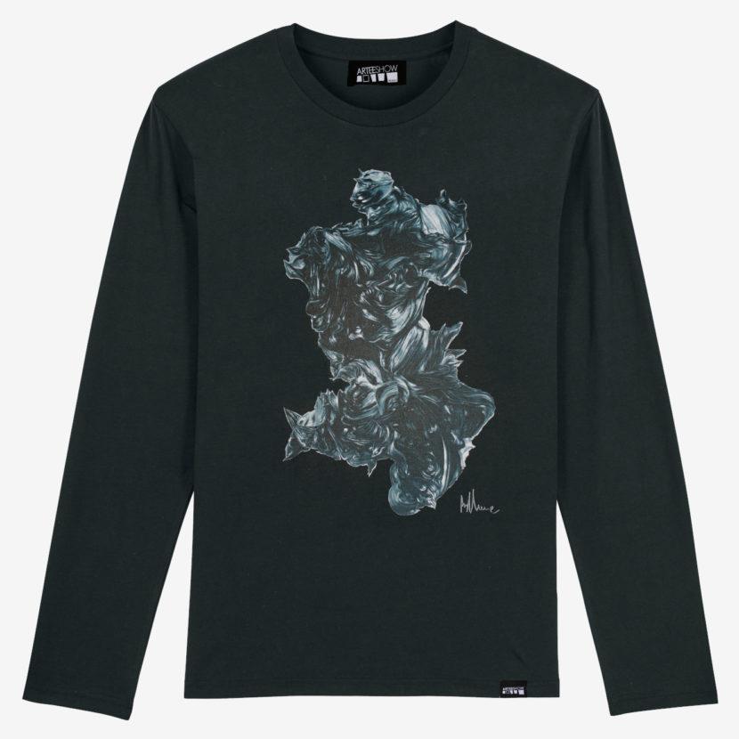 T-shirt noir Stephan Balleux