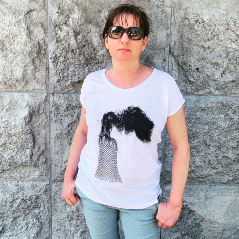 t-shirt elodie antoine cheminée