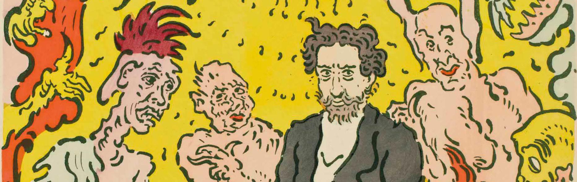 James Ensor Ostende affiche