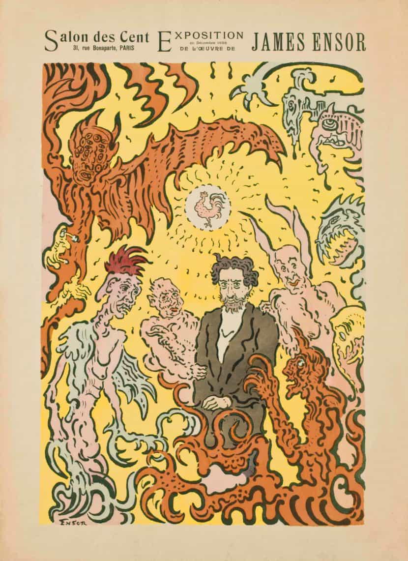 Salon des Cent James Ensor 1898