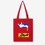 tote bag rouge evelyne axell